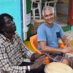 Percussie-reis door Gambia