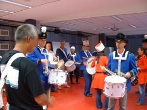 Oefenen drumband - 029